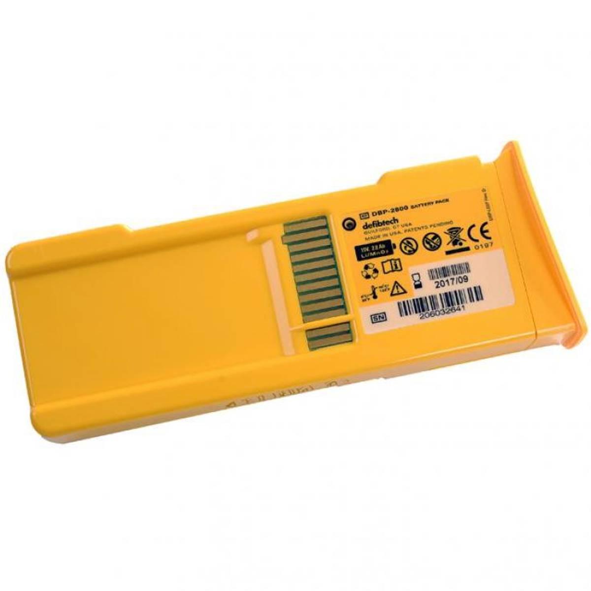 Lifeline AED 5 år hovedbatteri lithium