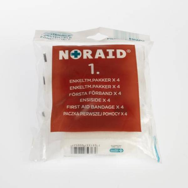 Bilde av Noraid refill - Nr. 1 Enkeltmannspakke x 4
