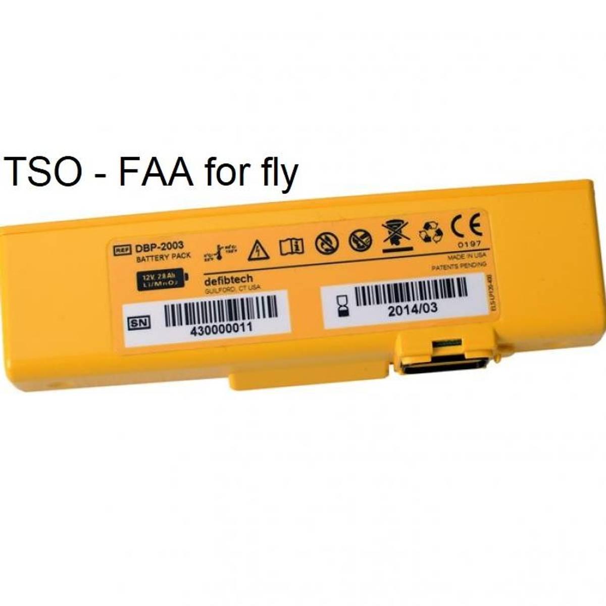 Lifeline VIEW/PRO Batteri TSO godkjent - 4 år