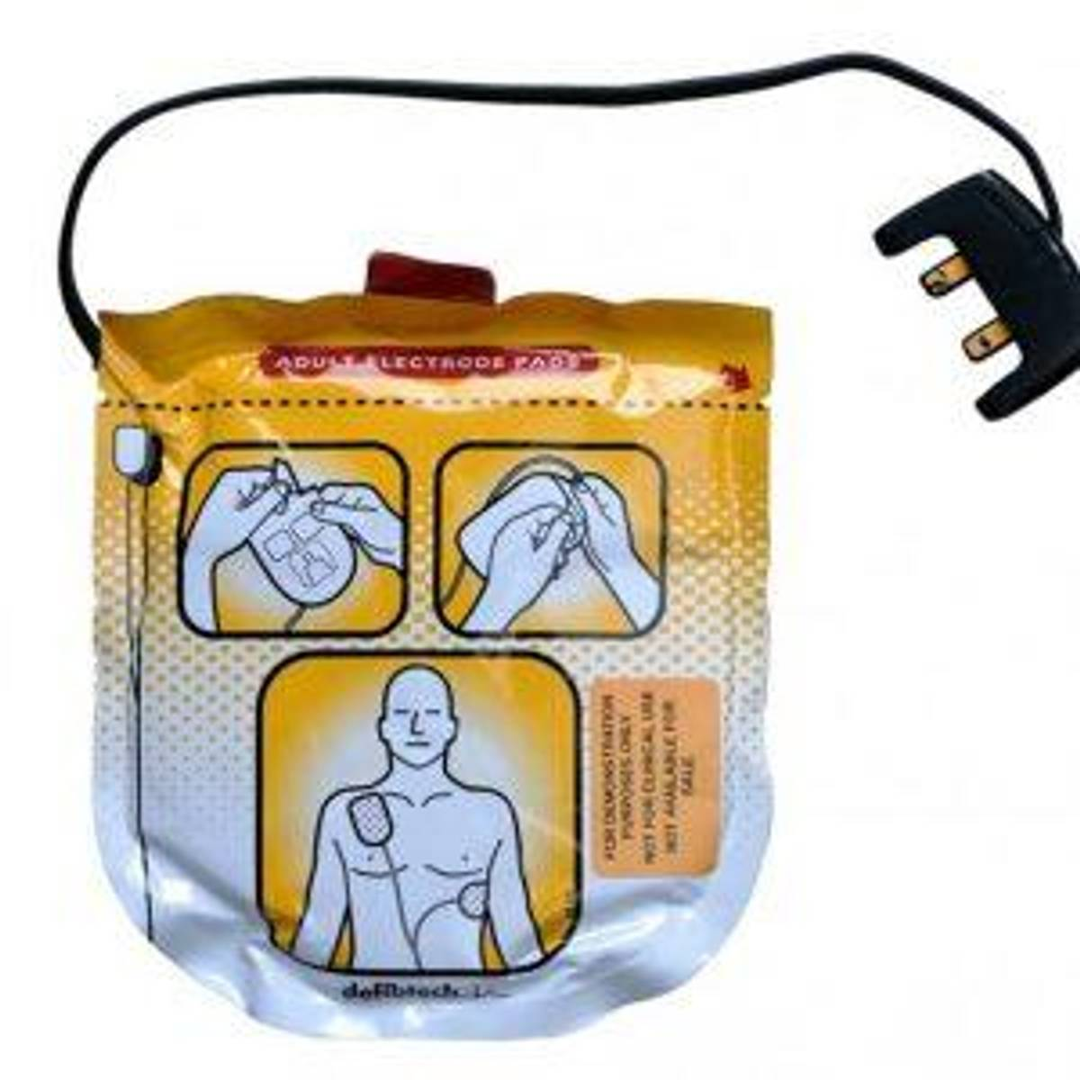 Lifeline VIEW/PRO Elektrodesett voksne