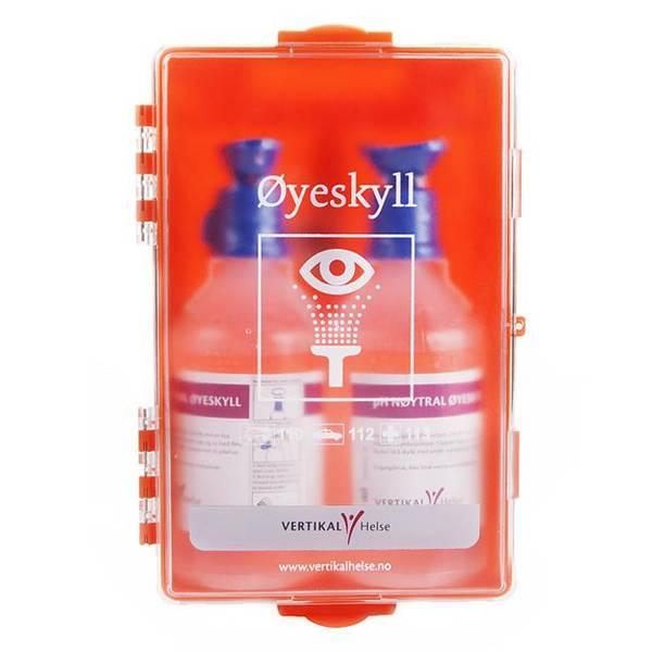 Bilde av Øyeskyllestasjon koffert, 500ml PH-nøytral x 2 VH
