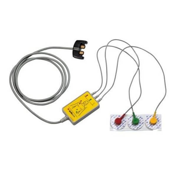 Bilde av Lifeline PRO EKG 3-avleder kabel