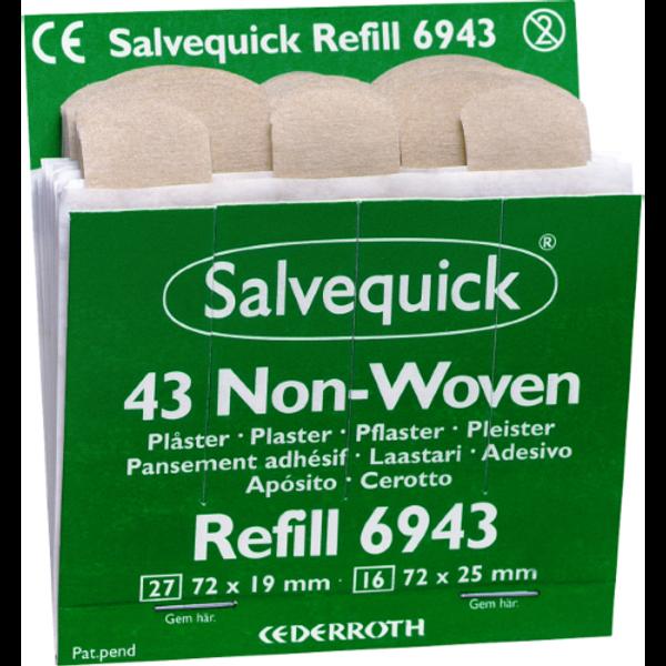 Bilde av Salvequick Non-Woven Plaster 43stk REF 6943