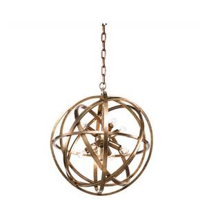 Bilde av Artwood Nest Ceiling lampe S brass