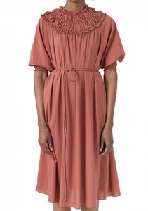 Bilde av Cathrine Hammel Gathered neckline dress
