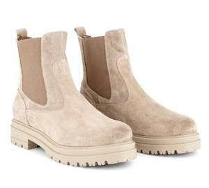 Bilde av Laura Bellariva velour avola beige boots