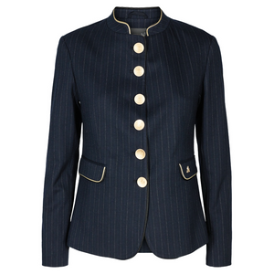 Bilde av by Malene Birger Blue Clara Pin Blazer