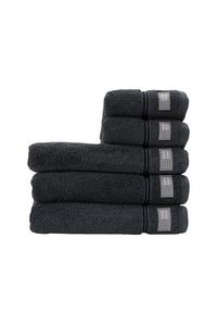 Bilde av Lexington Hotel Towel Gray/dk gray