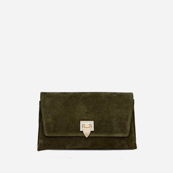 Decadent Nora small clutch suededark brown