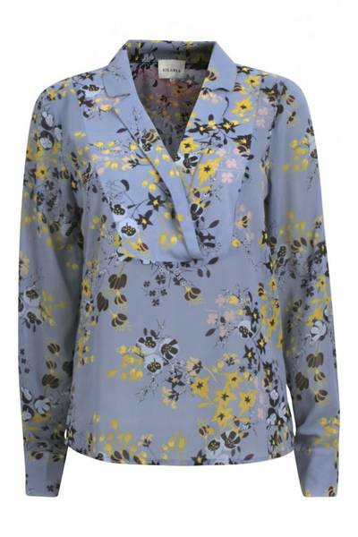 Six Ames blomstrete bluse