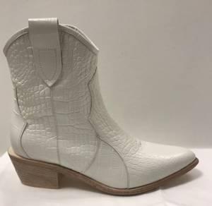 Bilde av Laura Bellariva hvit Crocco  boots