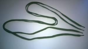 Bilde av Skolisser grønn flat 120 cm