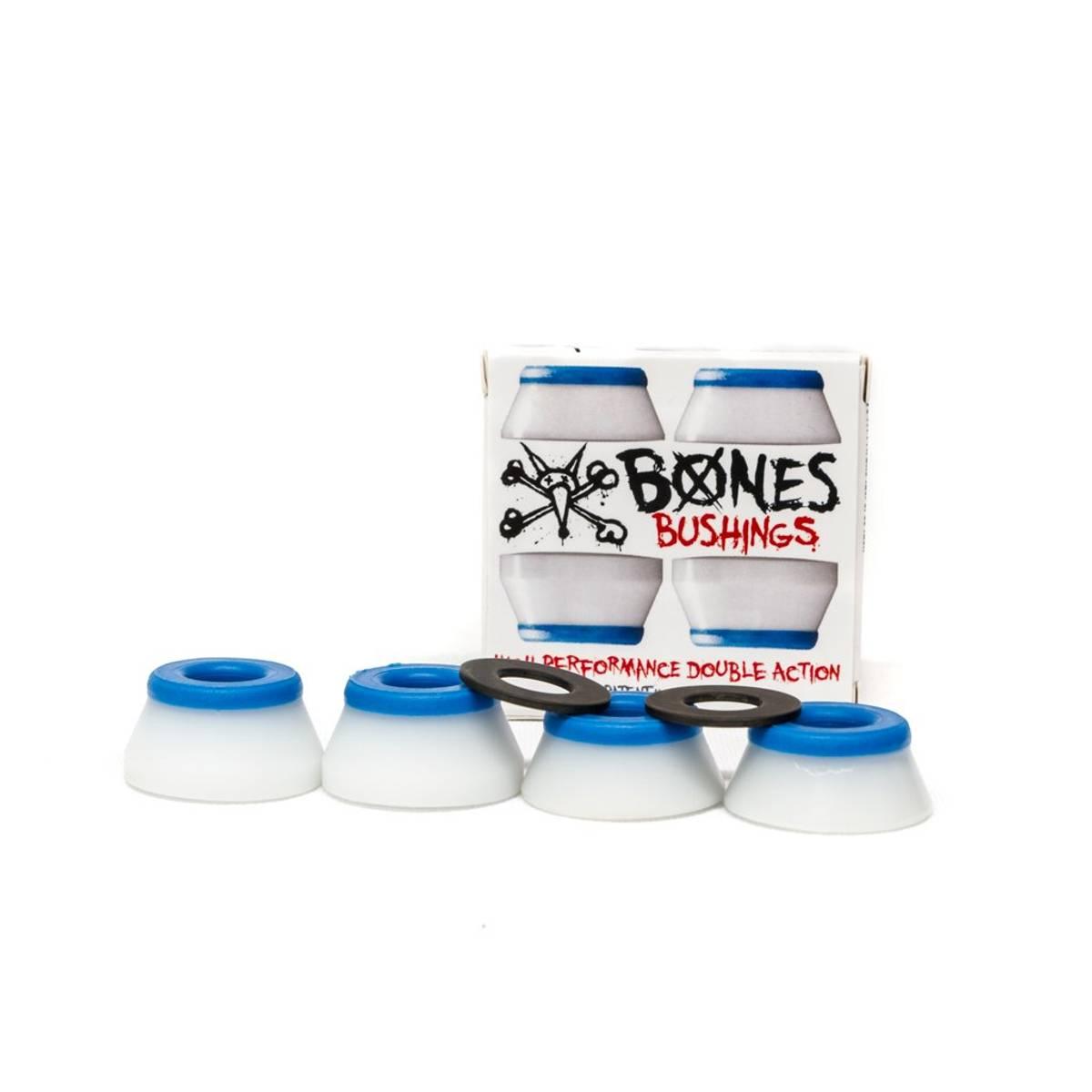 Bones Soft Bushings 81A White/Blue