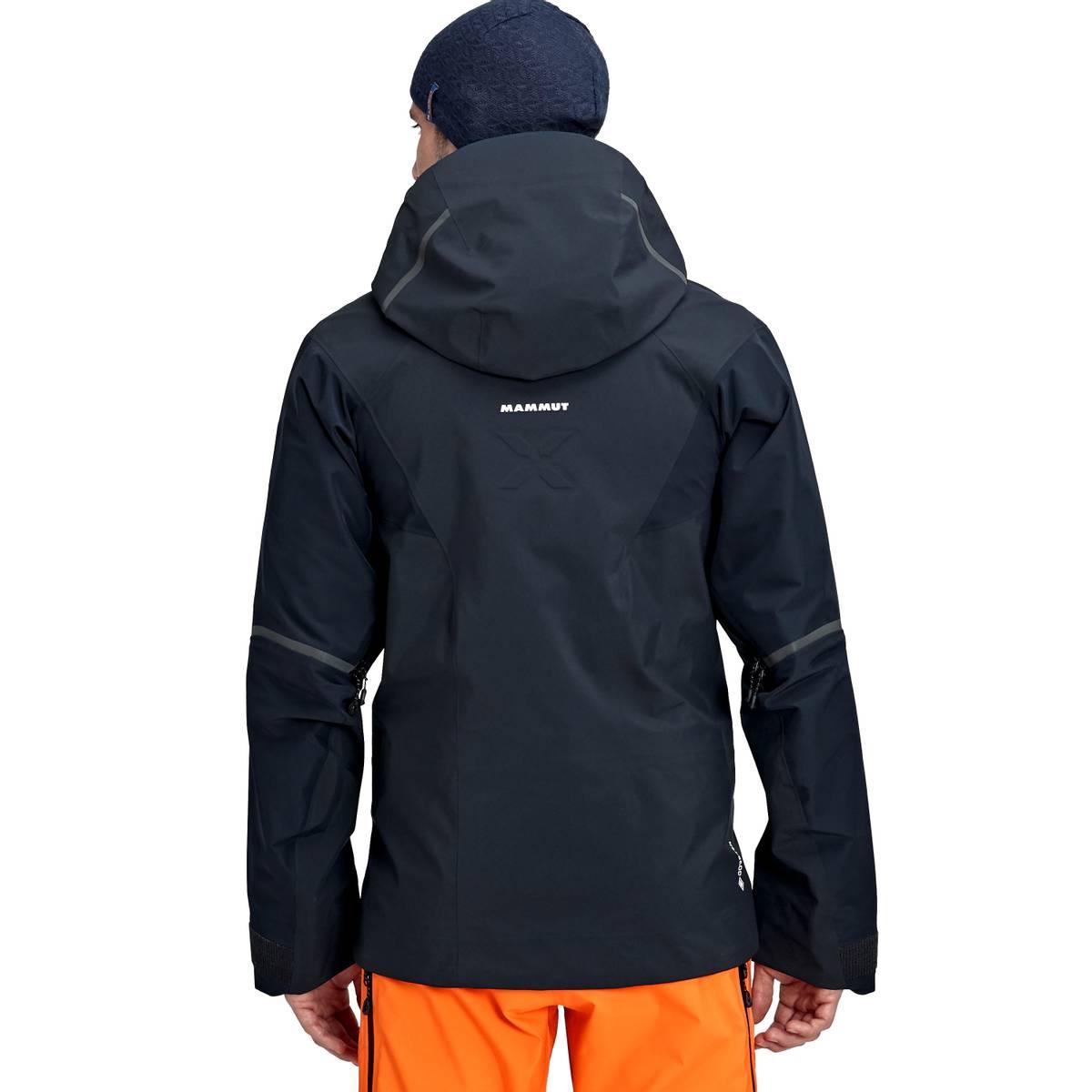 Mammut Nordwand Pro Hooded Hooded Hardshell Jacket Men Night