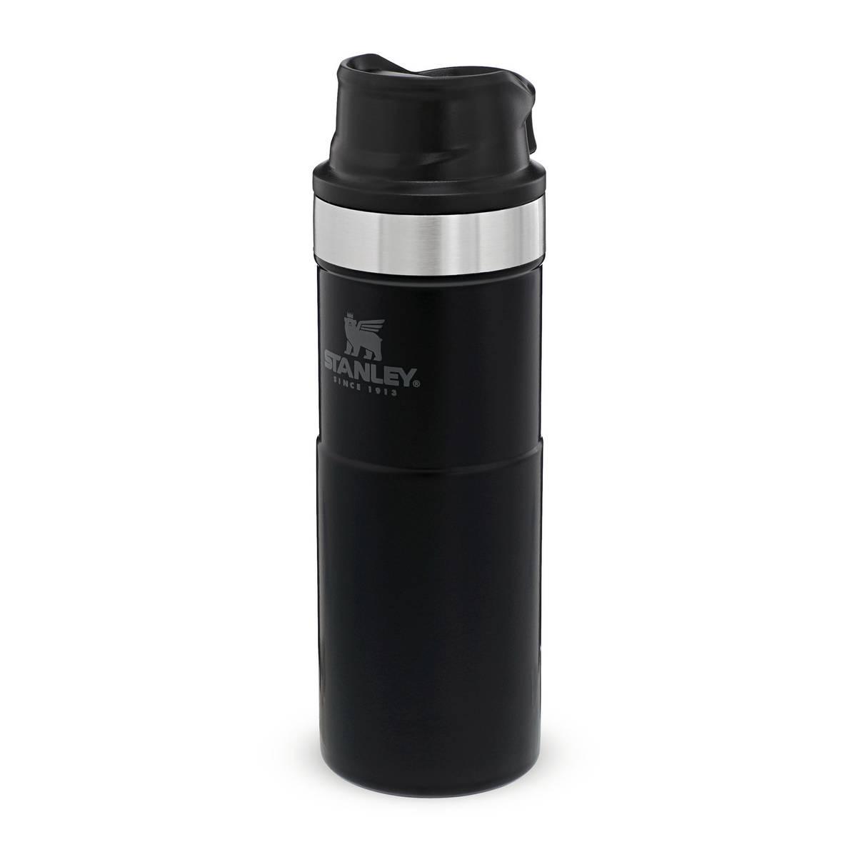 Stanley Termokopp Trigger Action Mug Matte Black 0.47 L