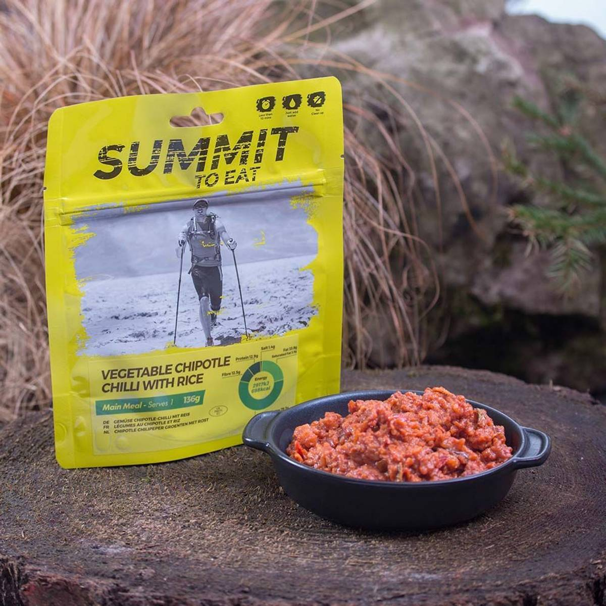 Summit to Eat Vegetable Chilli with Rice Big Pack