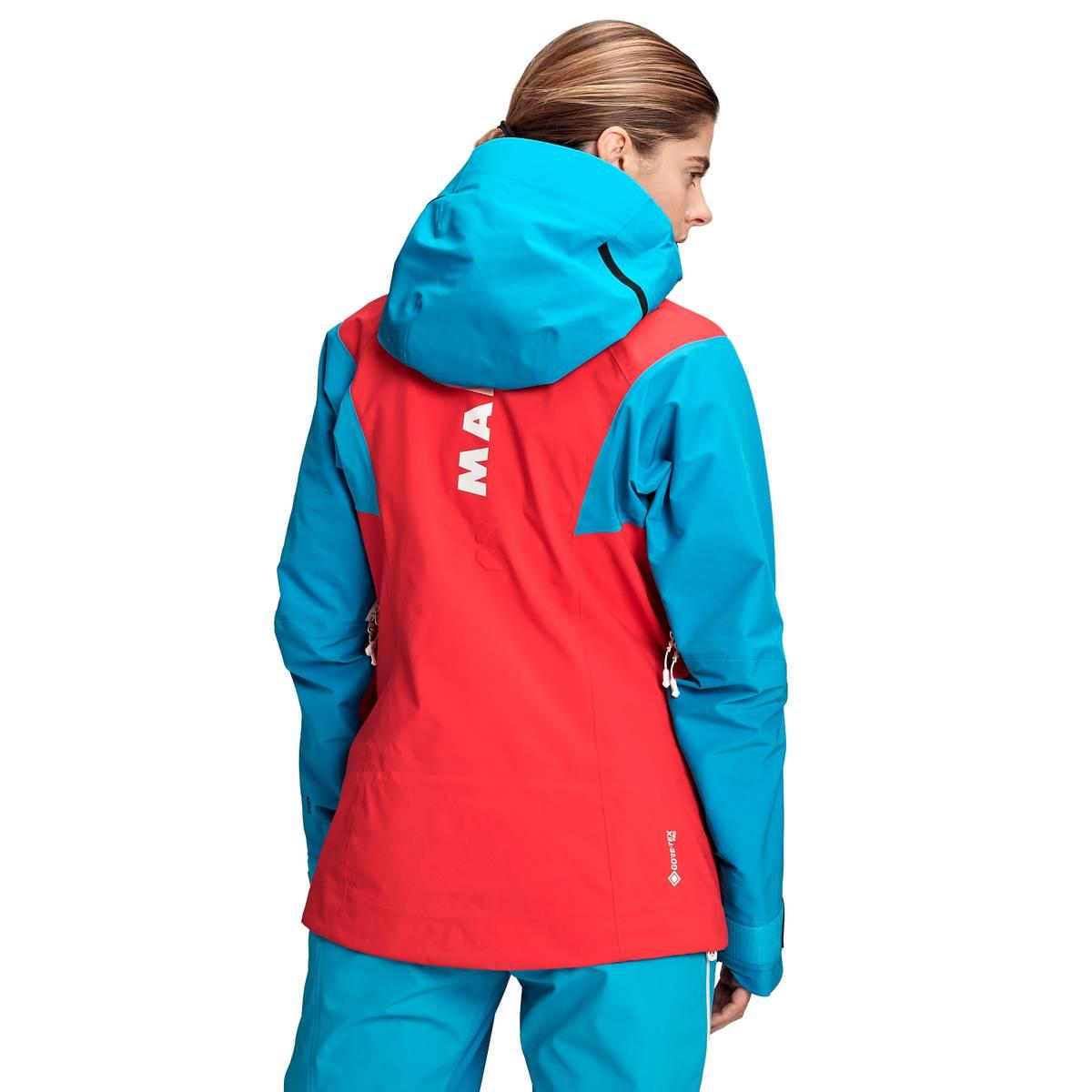 Mammut Nordwand Pro Hooded Hardshell Jacket Women Azalea-Sky