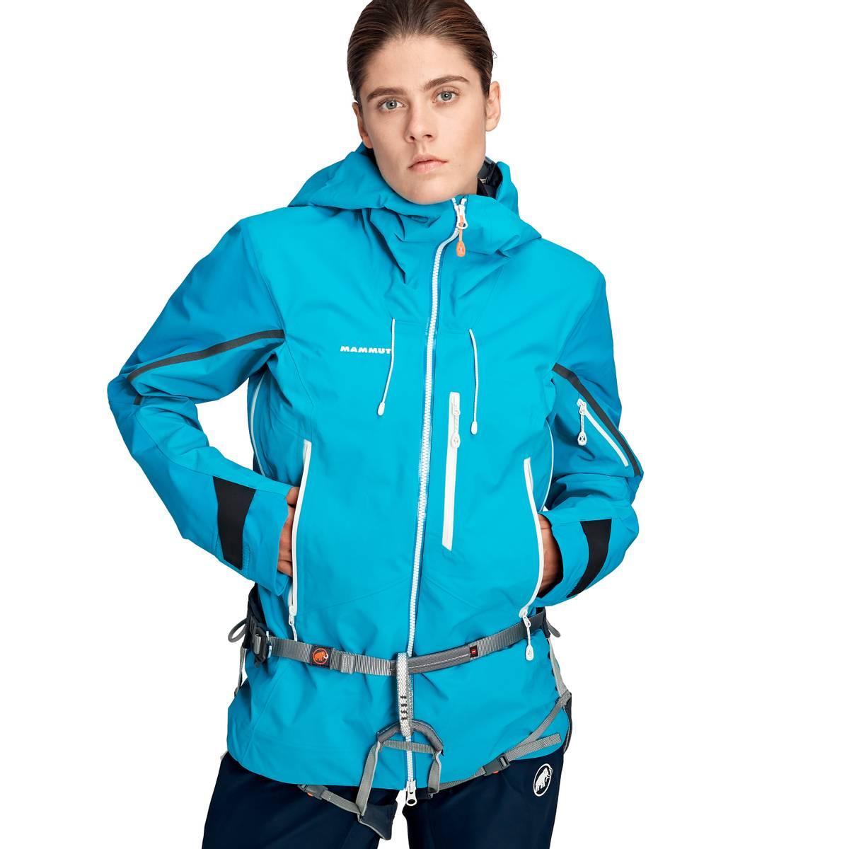 Mammut Nordwand Pro Hooded Hardshell Jacket Women Sky