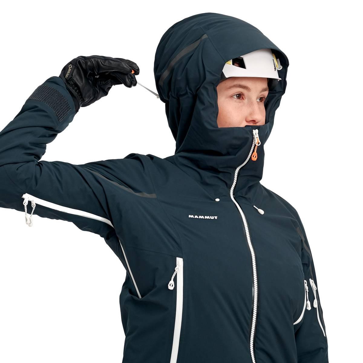 Mammut Nordwand Thermo HS Hooded Jacket Women Night