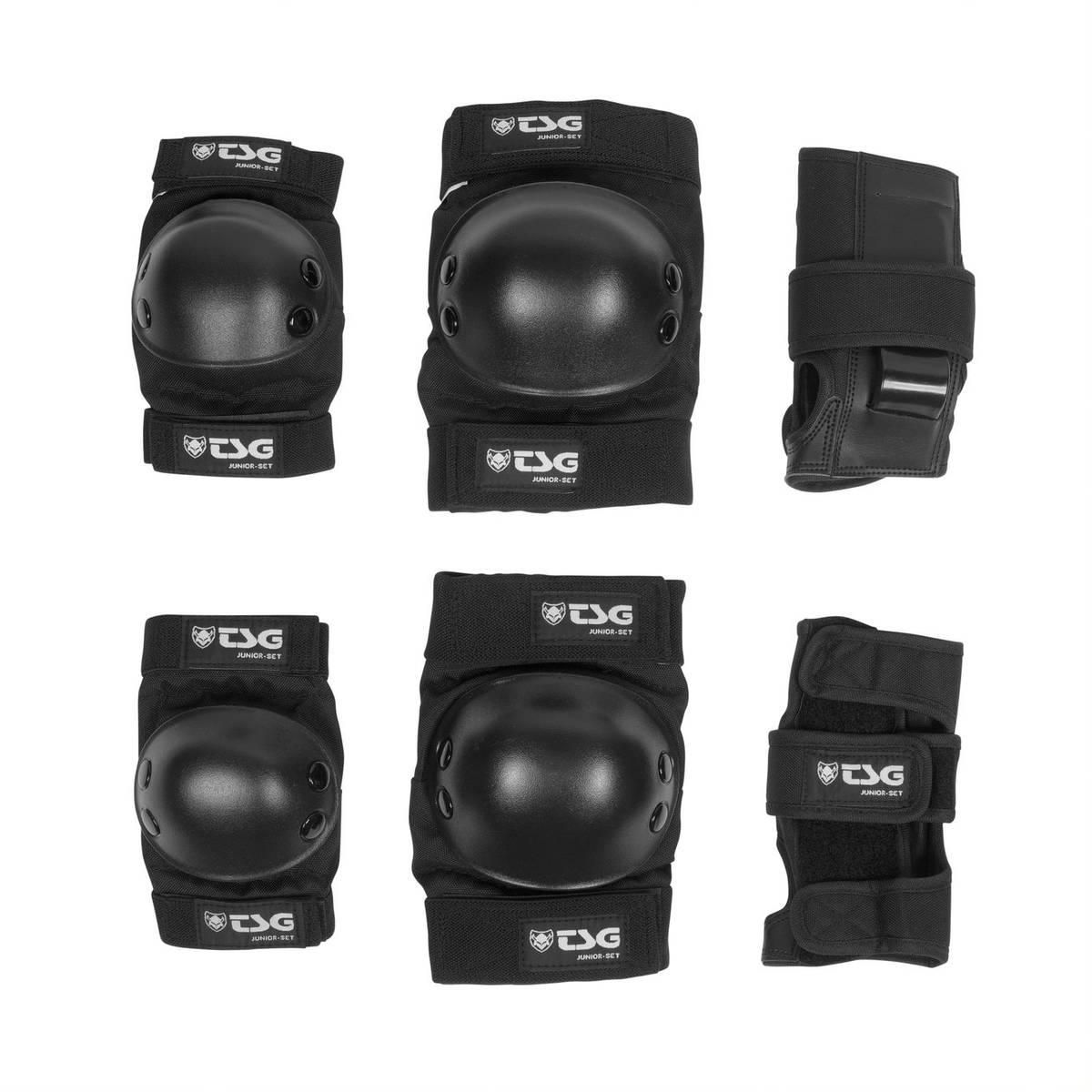 TSG Junior Set Orginal Black One Size