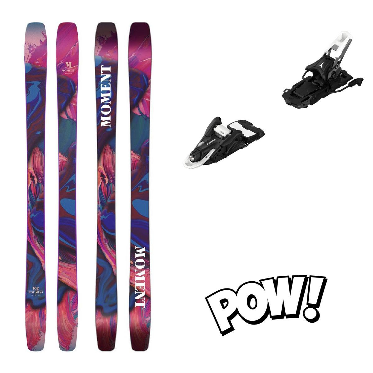 Moment Skis HOT MESS 2021 Toppturpakke