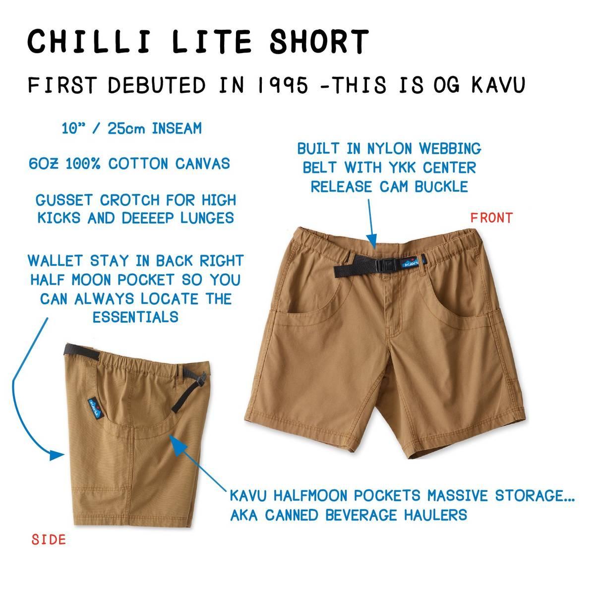 Kavu Chilli Lite Short Jumble