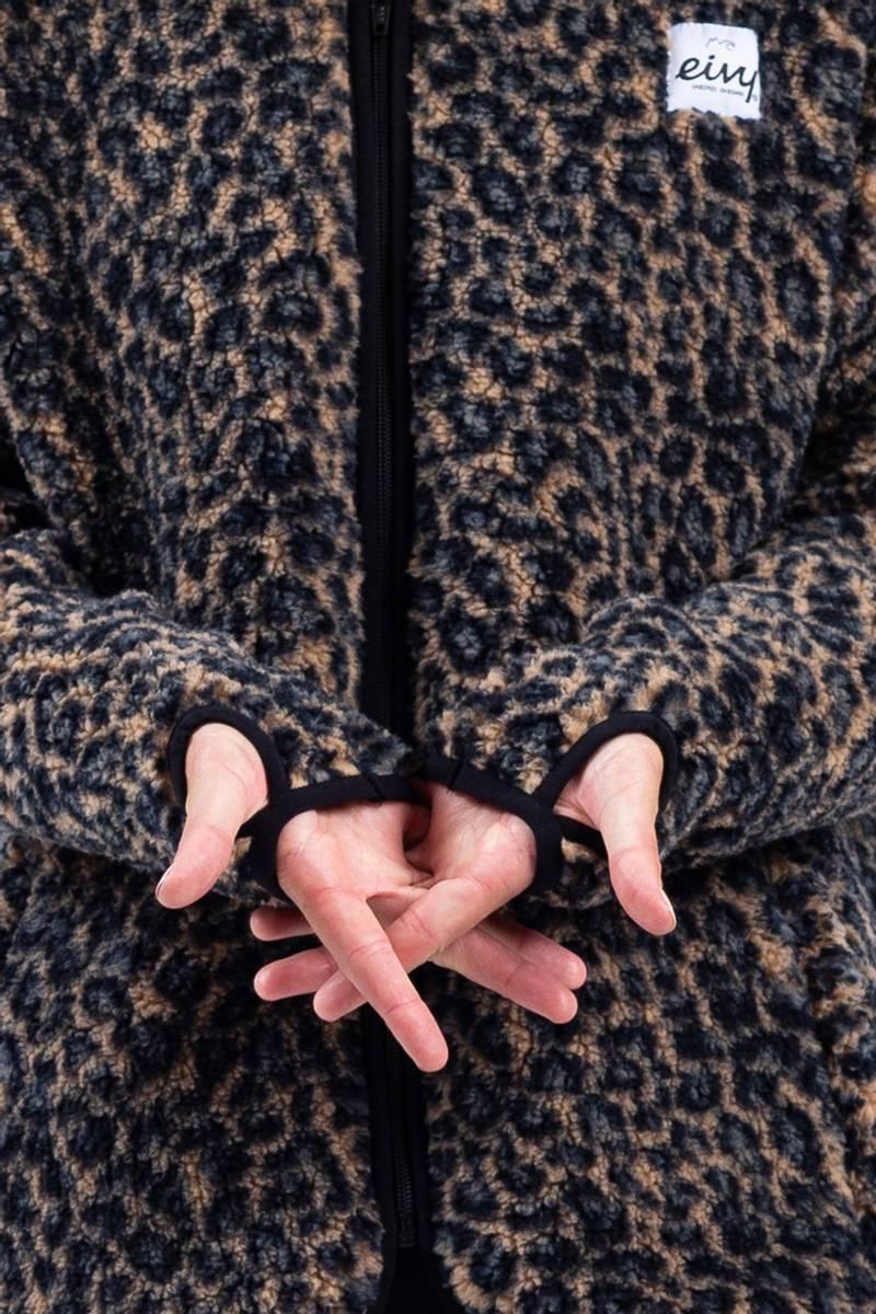 Eivy Redwood Sherpa Jacket Leopard