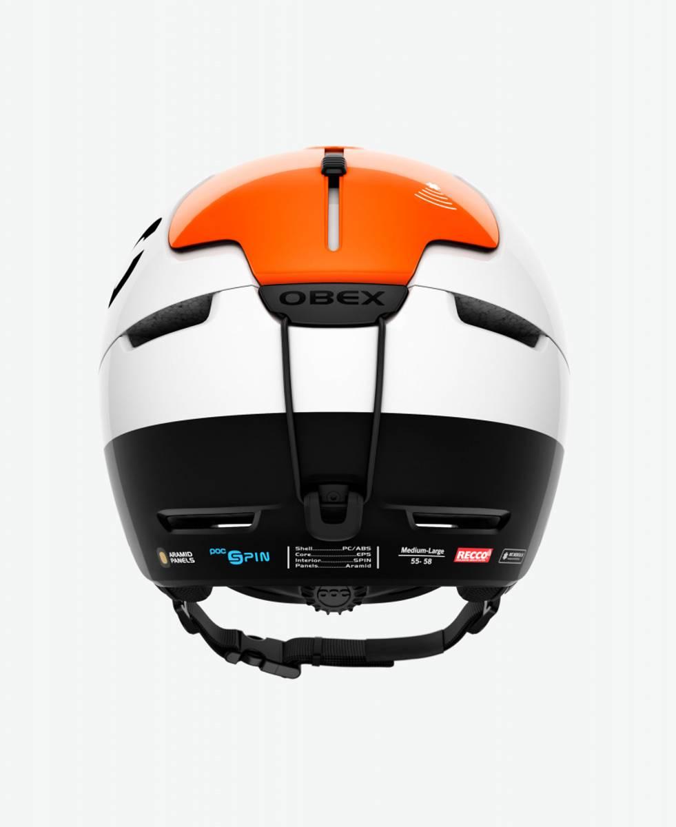 POC Obex BC SPIN Fluorescent Orange AVIP