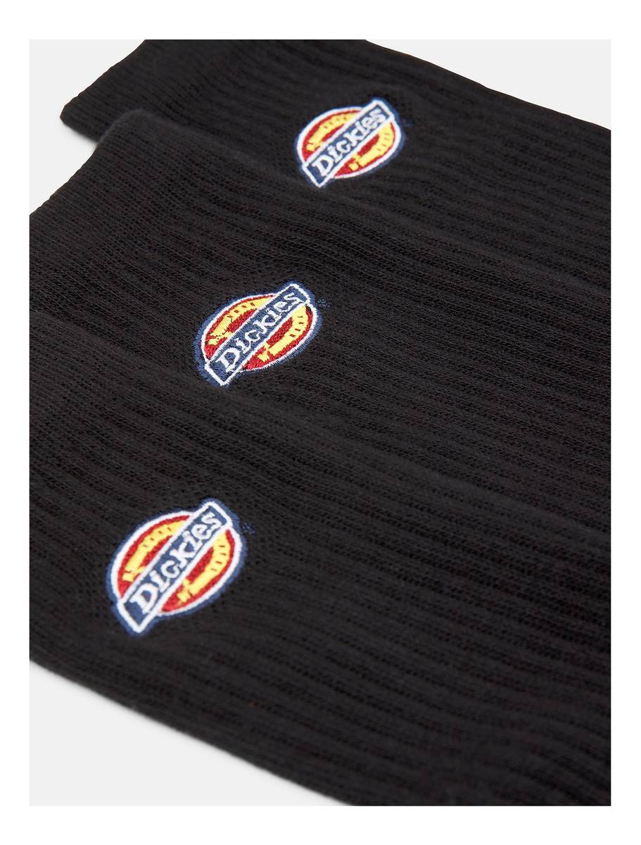 Dickies Valley Grove Embroidered Sock Black