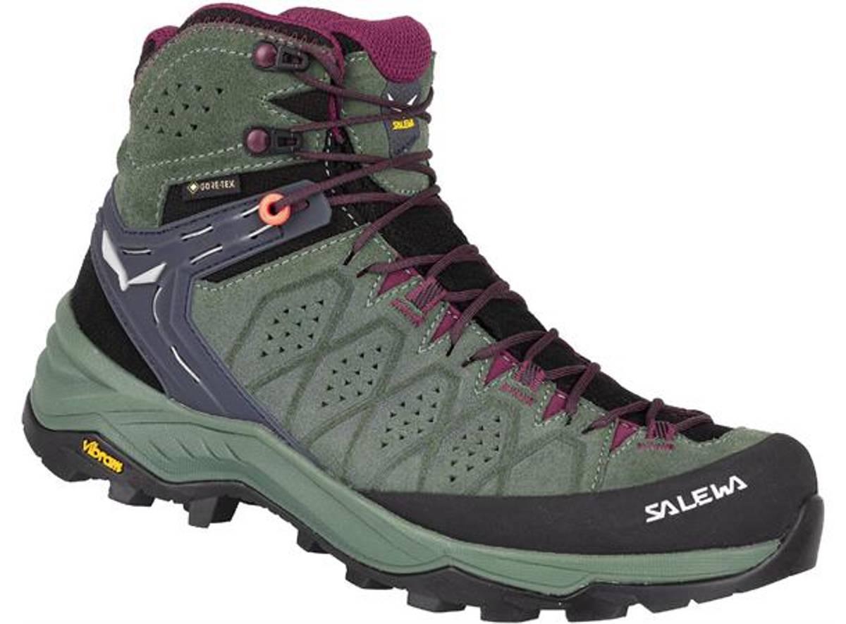 Salewa WS Alp Trainer 2 Mid GTX Duck Green/Rhododendon