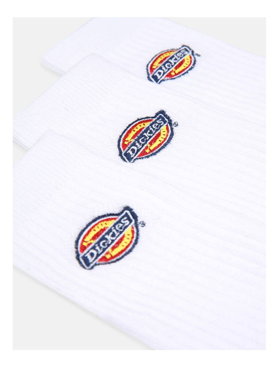 Dickies Valley Grove Embroidered Sock White