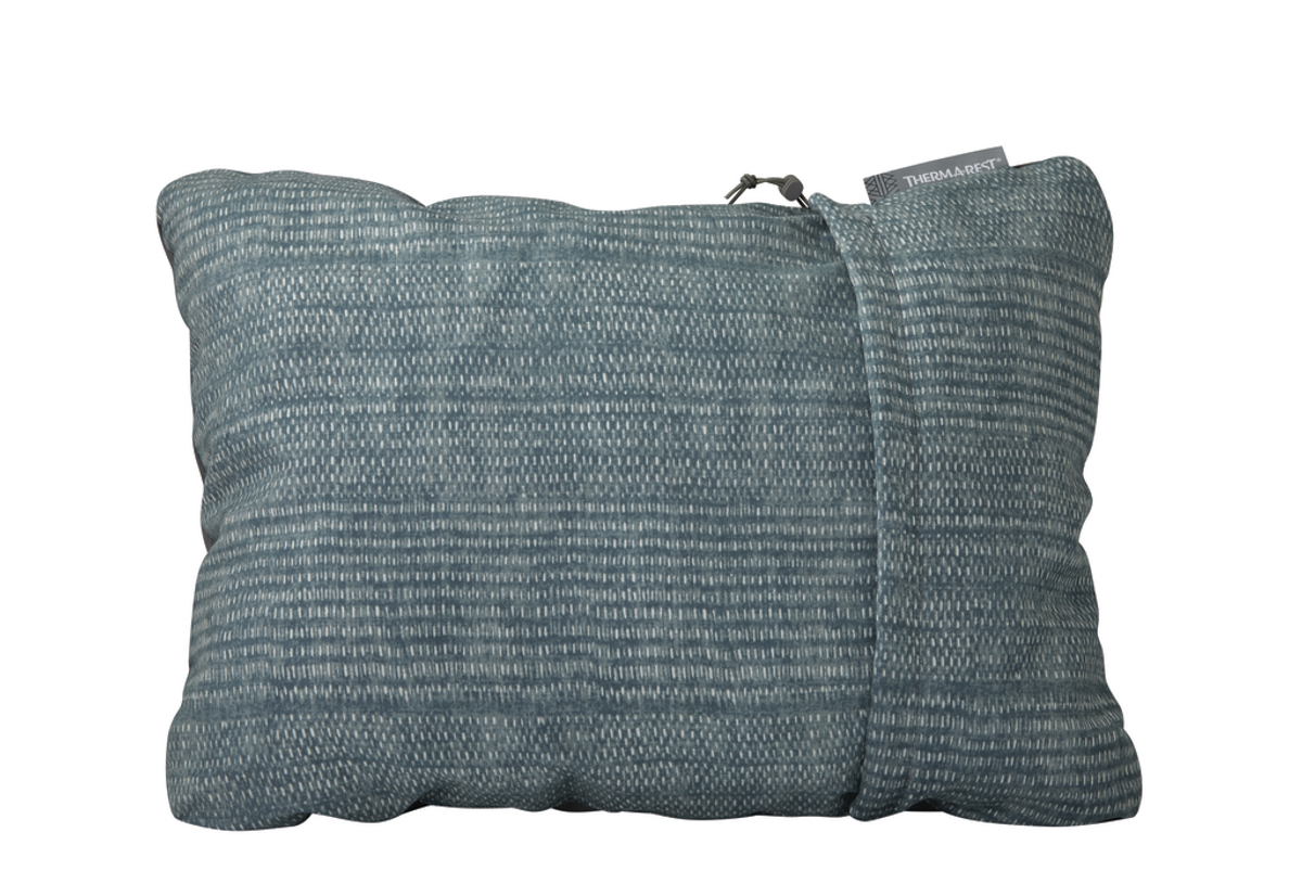 Therm-a-rest Compressible Pillow BlueWoven