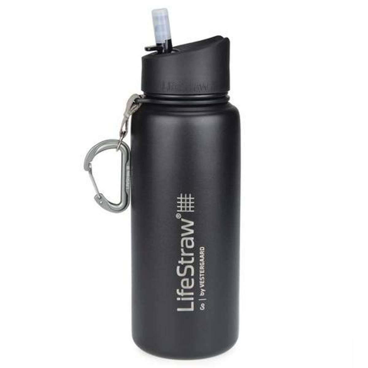 LifeStraw Go 650ml Vannfilter Insulated Steel Black