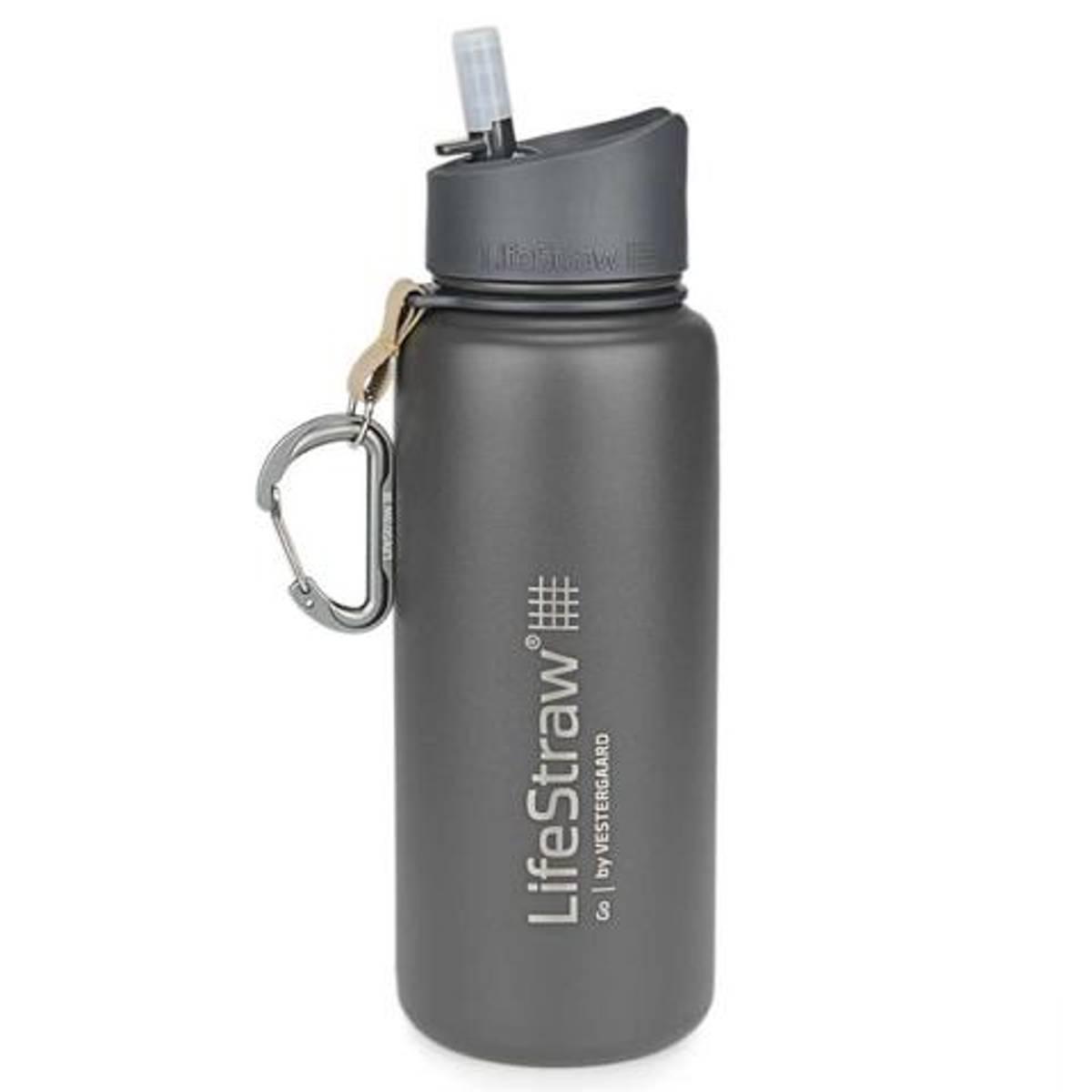LifeStraw Go 650ml Vannfilter Insulated Steel Grey