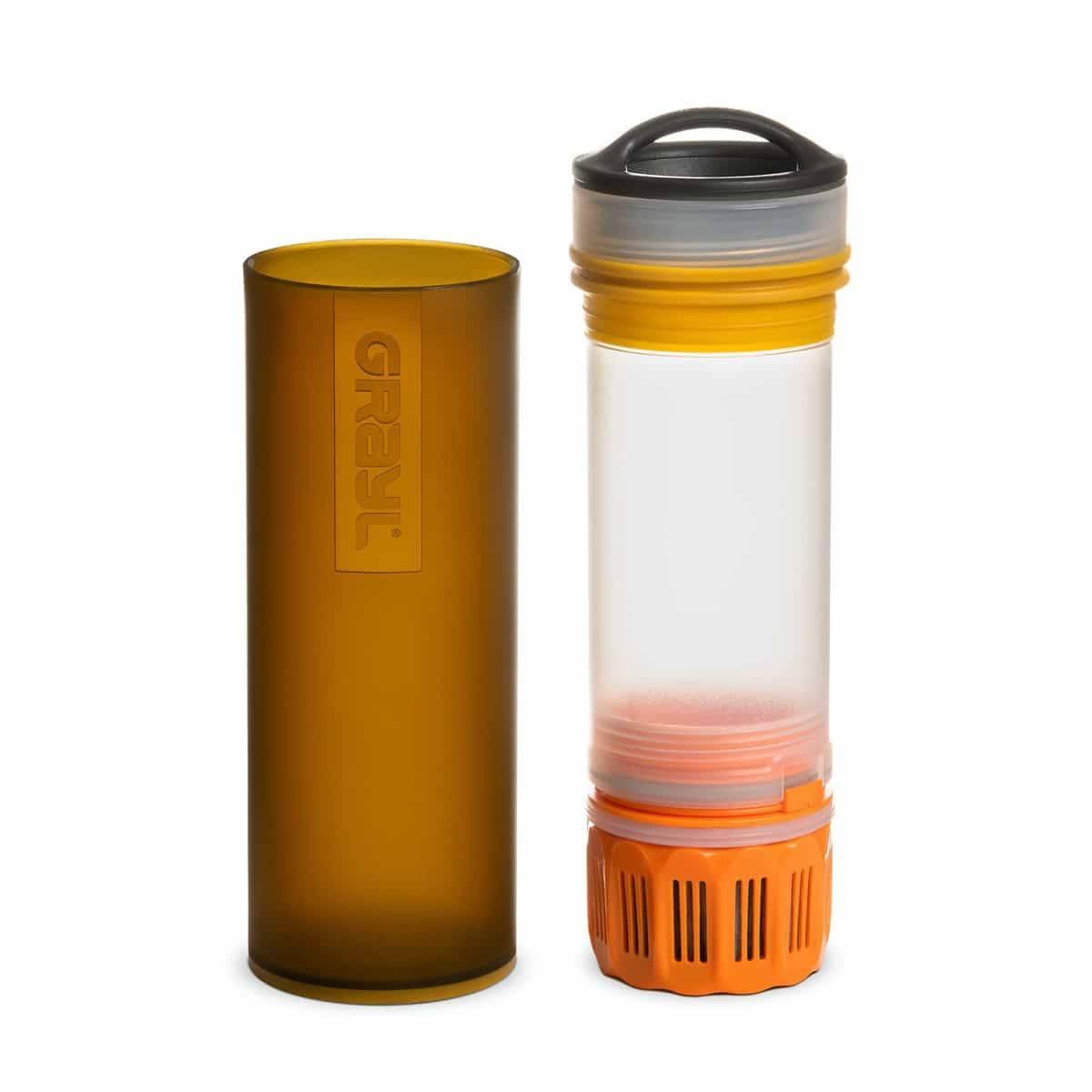 Grayl Ultralight Compact Purifier Bottle Coyote Amber