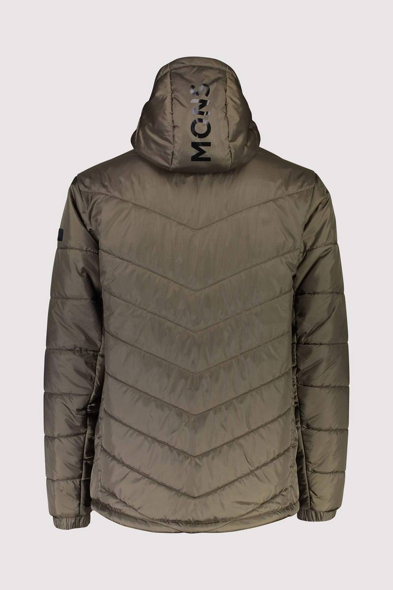Mons Royale Nordkette Insulation Hood Canteen
