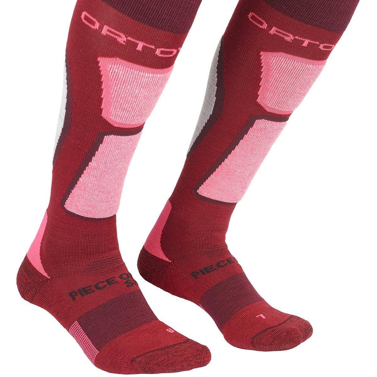 Ortovox Ski Rock'N'Wool Socks W Dark Blood