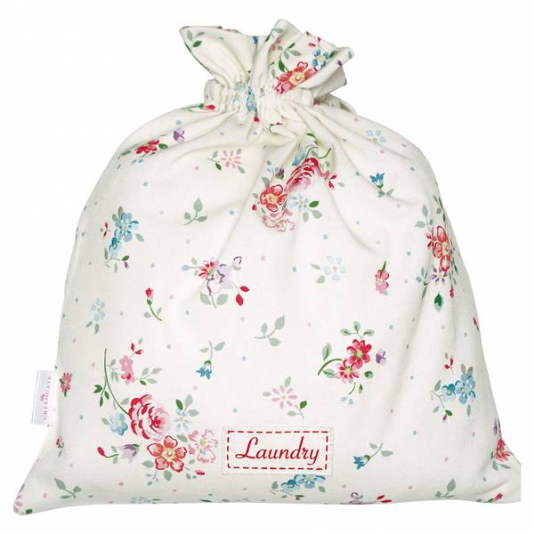 GreenGate, vaskepose Belle white small