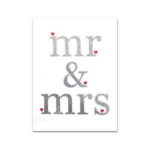"""Bilde av nobhilldesigners, """"mr&mrs"""""""