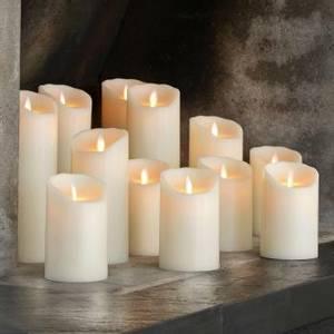 Bilde av Sompex, LED candel 8x23 ivory