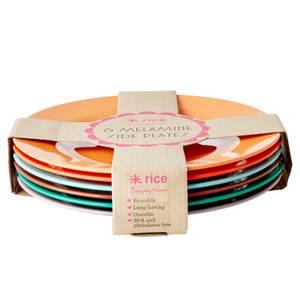 Bilde av Rice, 6 pk lunchtallerkner,