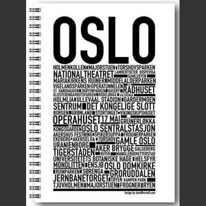 Bilde av Wallstars , notatbok OSLO