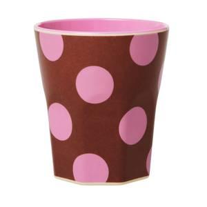 Bilde av Rice, kopp brun med  dots