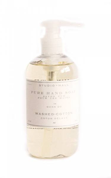 Studio Hall, pure hand soap washed cotton