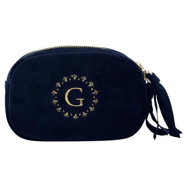 GreenGate, kosmetikkbag sort logo