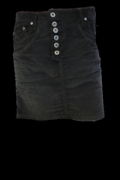 Please, Skirt short velour black