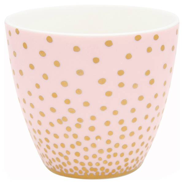 GreenGate, lattekopp Gold spot peach