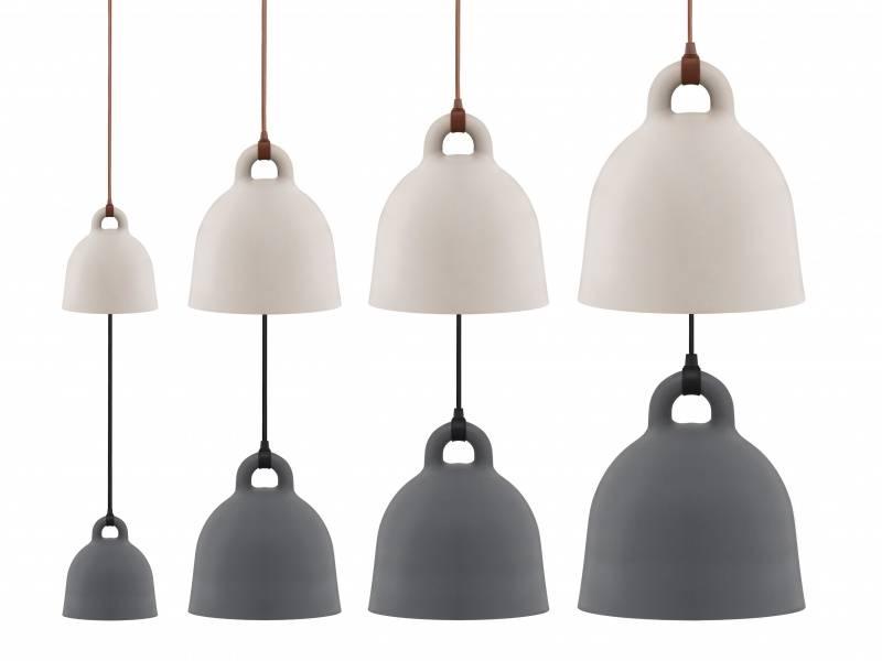 Normann Copenhagen Bell lampe x-small sand
