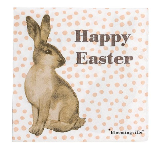 Bloomingville, napkin Happy Easter 2