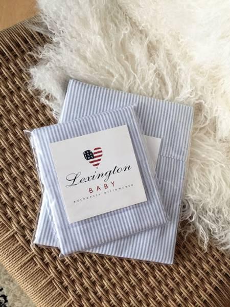 Lexington blue stripe baby putevar 35X40